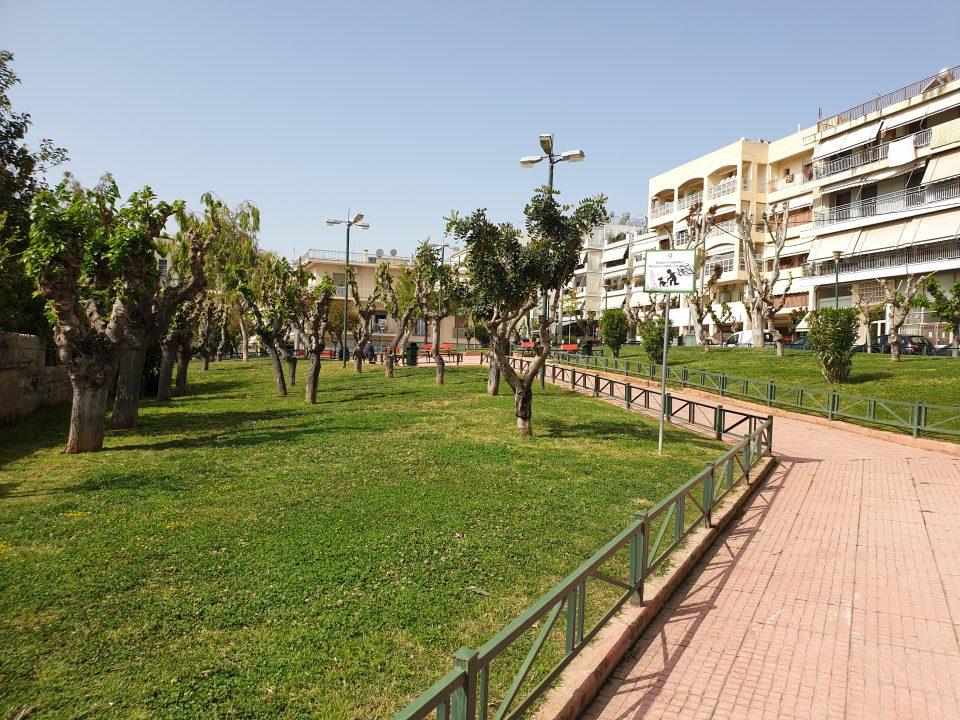 Πλατεία Αγαμέμνονος, Ίλιον